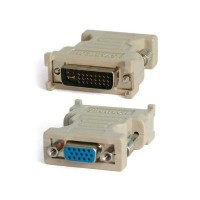 DVI-I (Male) Dual Link to D-Sub (Female) Converter
