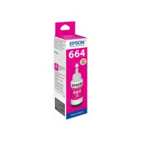 EPSON T6643 Magenta 70ml Original Refill Ink Bottle