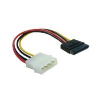 Kabel Adapter 4 pin Molex to Power SATA 9cm