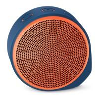 LOGITECH X100 Mobile Wireless Speaker [984-000371] - Blue Orange Grill