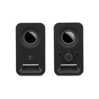 LOGITECH Z150 Multimedia 2.0 Speaker [980-000860] - Black