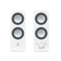 LOGITECH Z200 Multimedia 2.0 Speaker [980-000849] - White