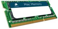 CORSAIR 8GB DDR31333 MHz (PC-10600) Mac Memory SODIMM RAM [CMSA8GX3M1A1333C9]