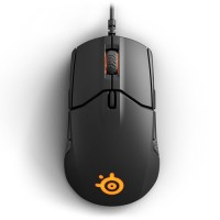 STEELSERIES Sensei 310 Optical Gaming Mouse, 12000 CPI, RGB Illumination, 8 Buttons, TrueMove3 - Black