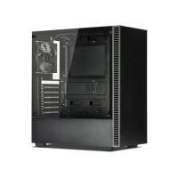 TECWARE Nexus C Black Tempered Glass ATX Mid Tower Gaming Casing Komputer