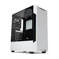 TECWARE Nexus Evo  White Tempered Glass ATX Mid Tower Gaming Casing Komputer