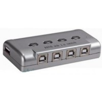 Printer Auto Sharing Switch USB 2.0 - 4 Port