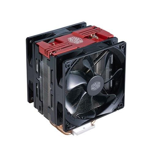 Jual COOLER MASTER Hyper 212 LED Turbo Dual Fan Red Top