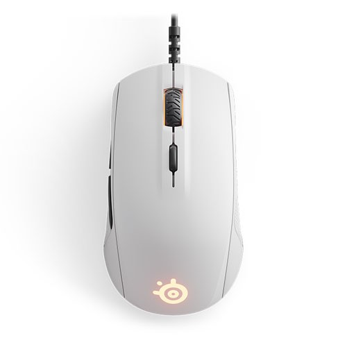 20c321e4f81 Jual STEELSERIES Rival 110 Optical Gaming Mouse, 7200 CPI, RGB  Illumination, 6 Buttons, TrueMove1 - Arctis White - Beli Online di  BatamOnlineShop.Com